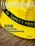 Food Safety and Manufacturing Forecast