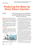 Producing Hot Water by Direct Steam Injection